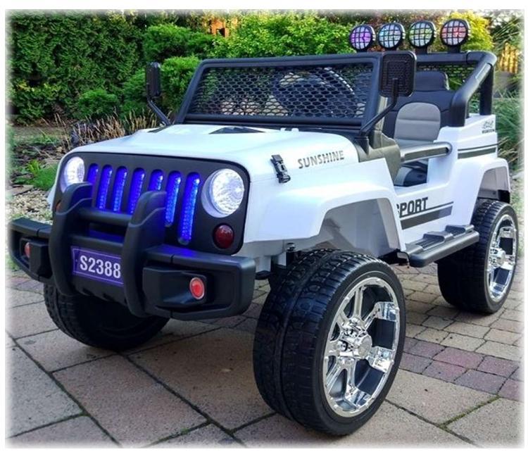 Elektroauto für Kinder Allradantrieb 4WD Geländewagen Sonderedition