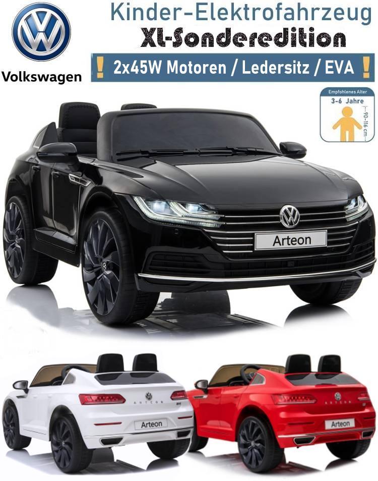 Kinder Elektrofahrzeug VW Arteon Elektroauto