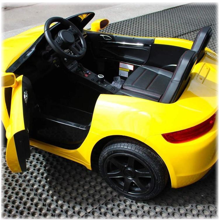 Elektroauto Auto für Kinder Zweisitzer XXL