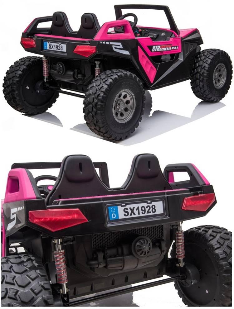 XXL Elektroauto für Kinder Zweisitzer Challenger Clash