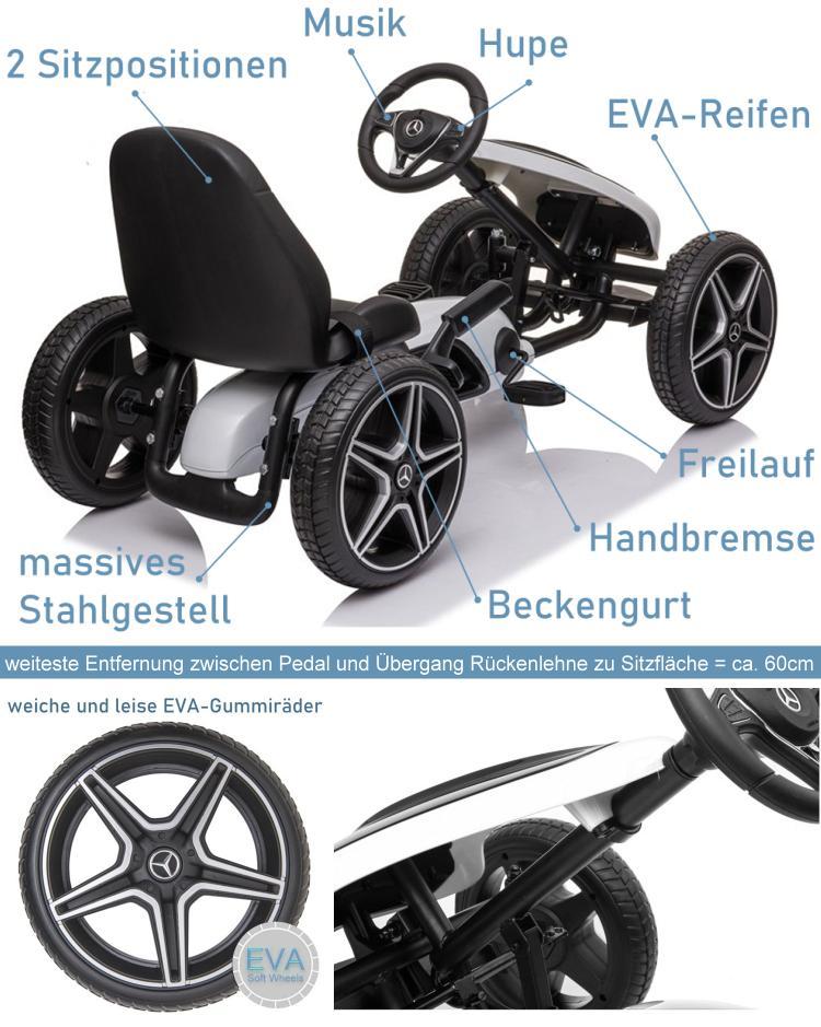 Mercedes Benz GoKart für Kinder Hamburg