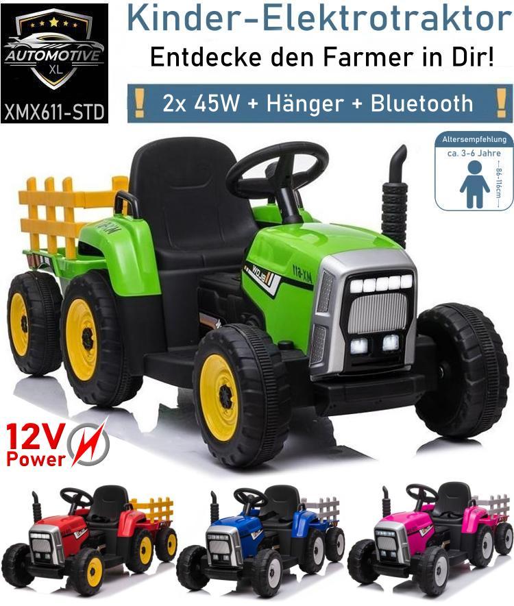 Kinder Elektroauto Traktor MX611