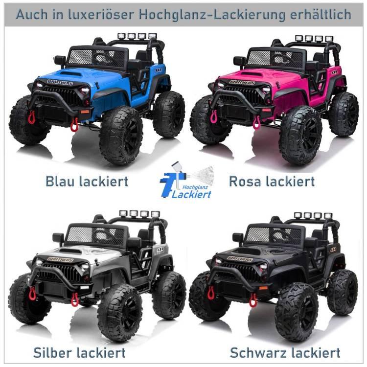 Zweisitzer Elektroauto für Kinder Geländewagen