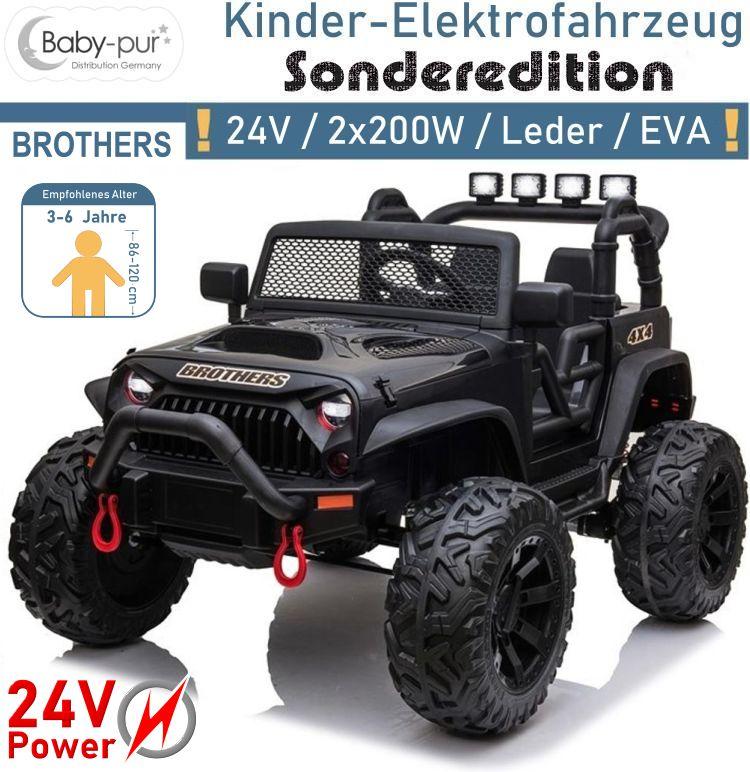 Kinder Elektrofahrzeug 24V 2x200W