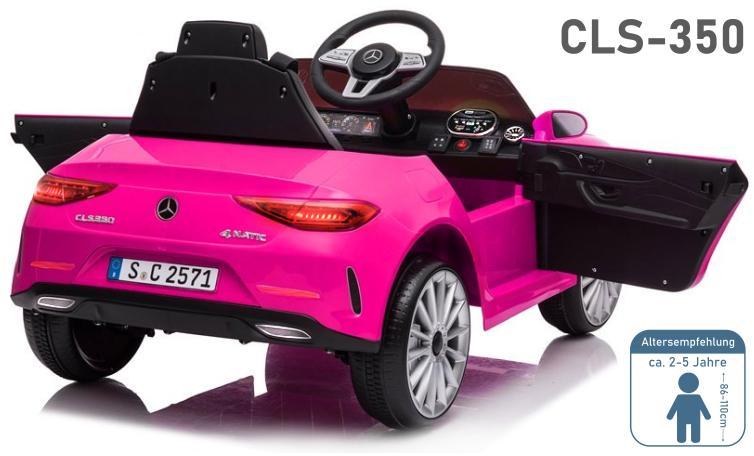 Kinder Elektroauto Mercedes Benz CLS-350