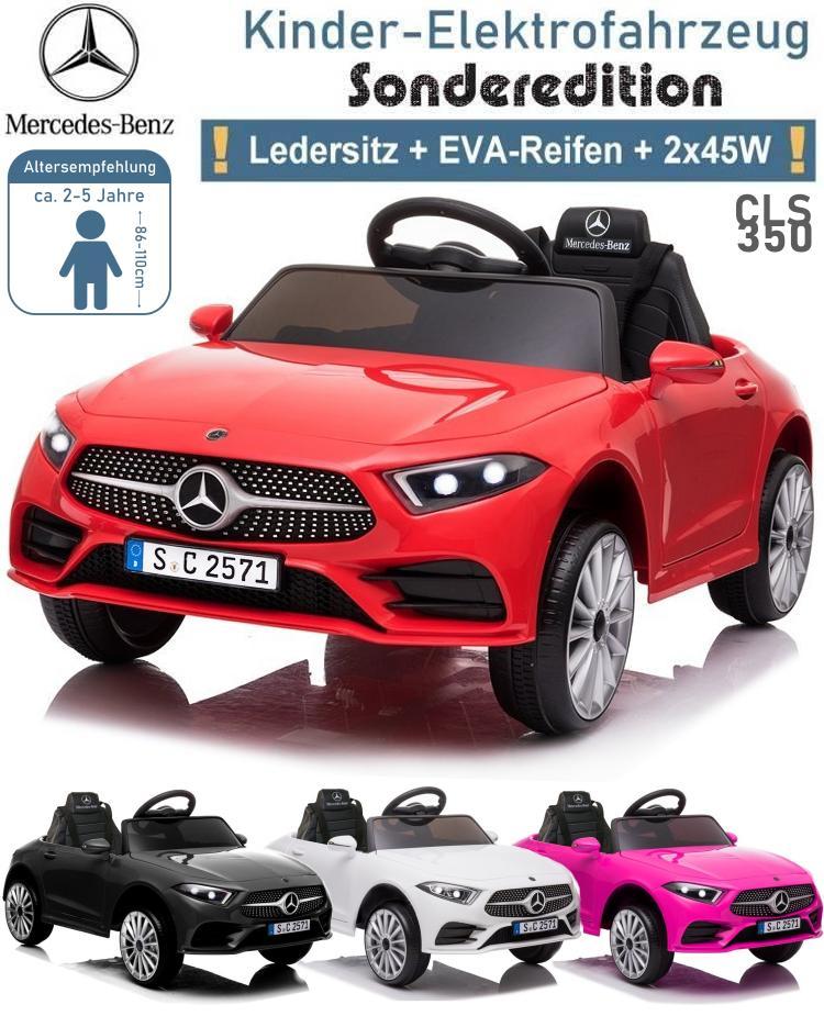 Kinder Elektrofahrzeug Mercedes Benz CLS-350 Elektroauto