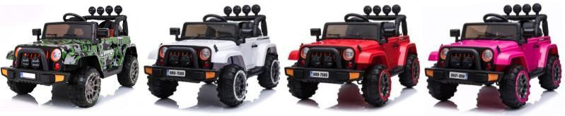 Kinder Elektroauto Geländewagen BRD EVA Ledersitz 4x4