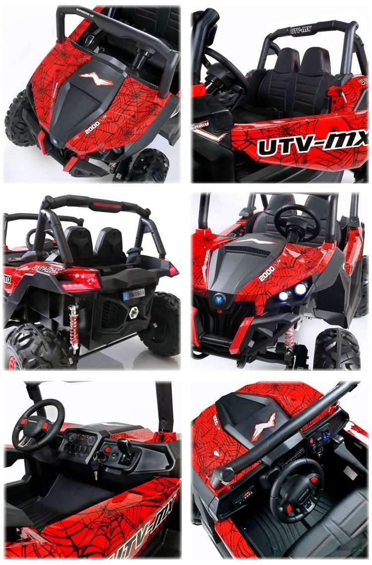 Elektro Kinderauto Elektroauto XXL Zweisitzer