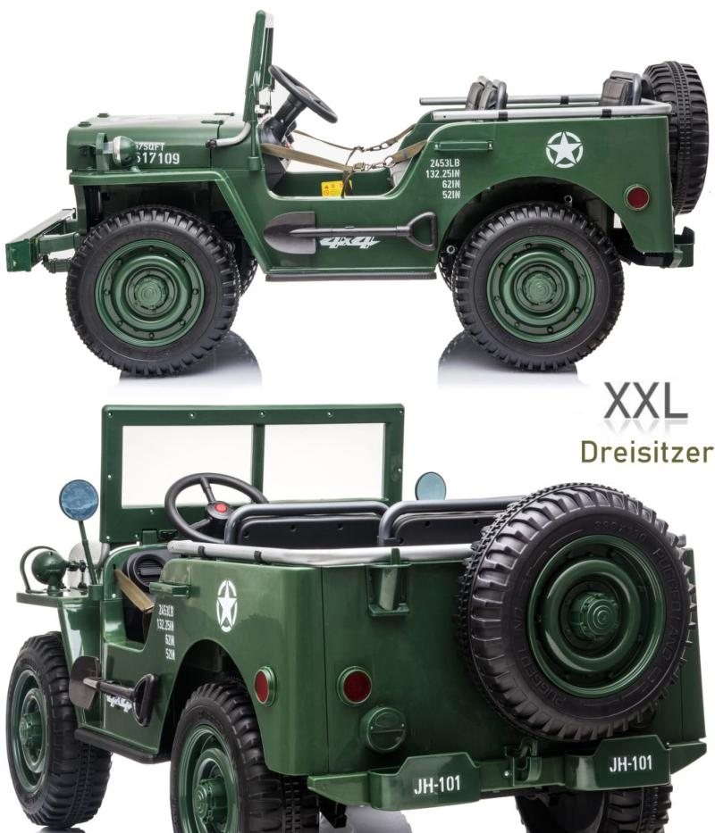 Militärfahrzeug Elektroauto
