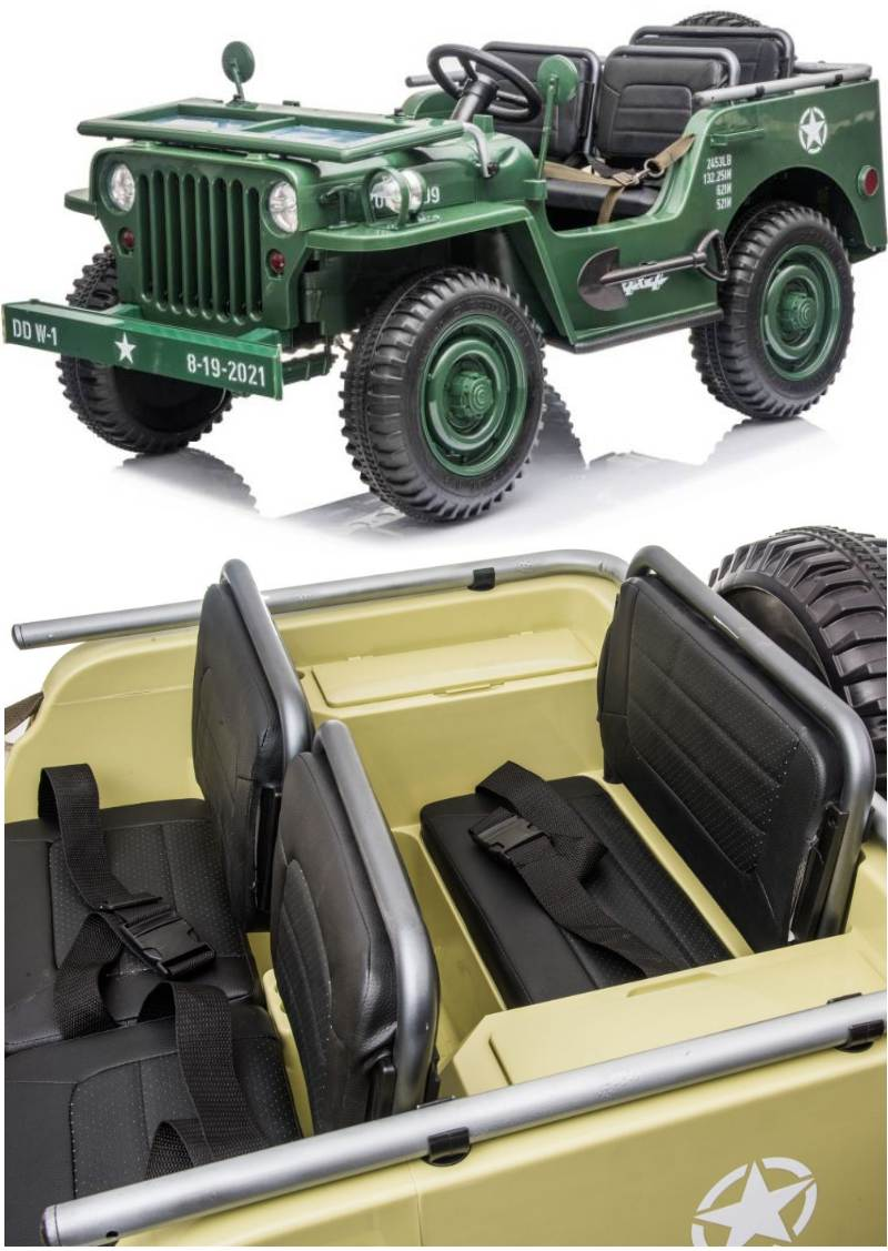 Elektroauto Militär Geländewagen