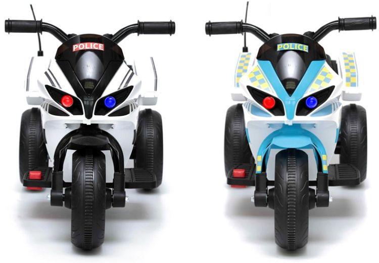 Elektrisches Kinder-Polizeimotorrad Elektromotorrad