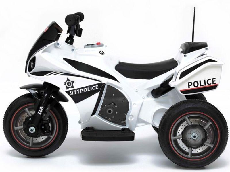 Elektrisches Kindermotorrad Elektromotorrad Polizeimotorrad