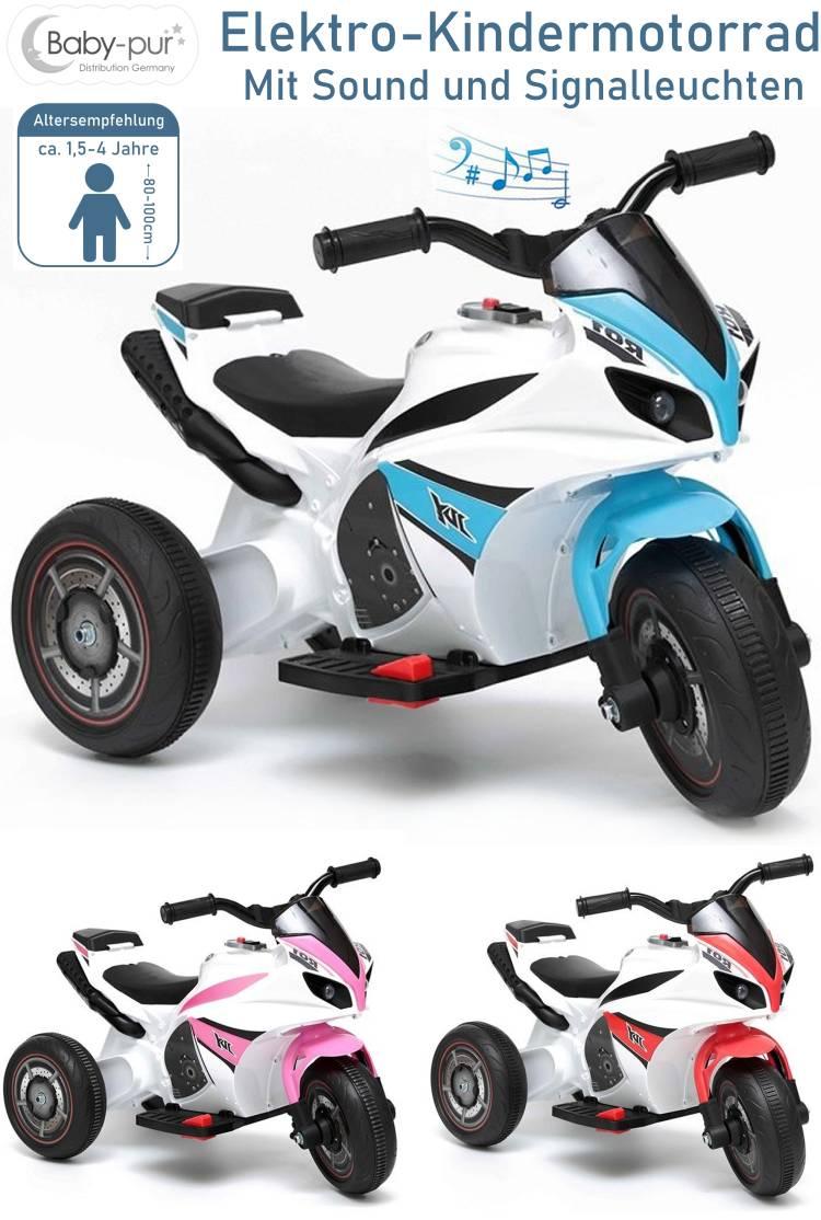 Elektrisches Kinderfahrzeug Elektromotorrad