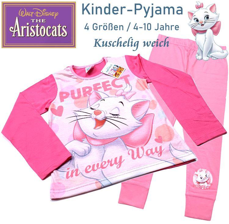 Kinder Pyjama Schlafanzug Aristocats