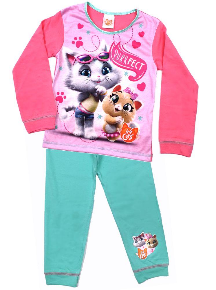 44 Cats Kinder Pyjama Schlafanzug