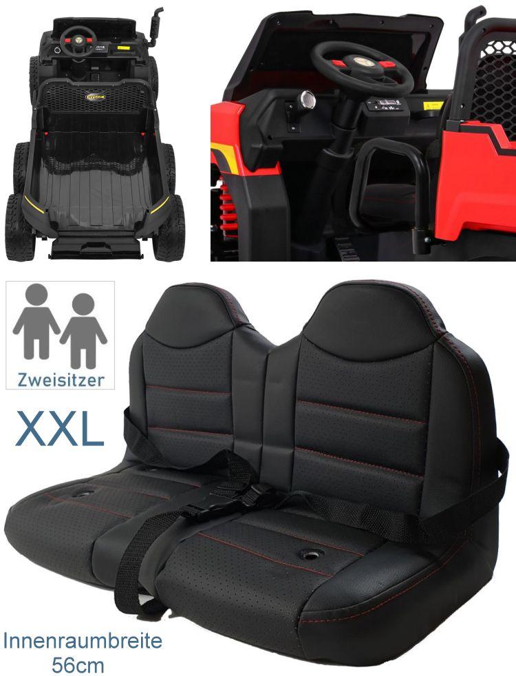 Zweisitzer Elektroauto für Kinder Geländewagen A730-2