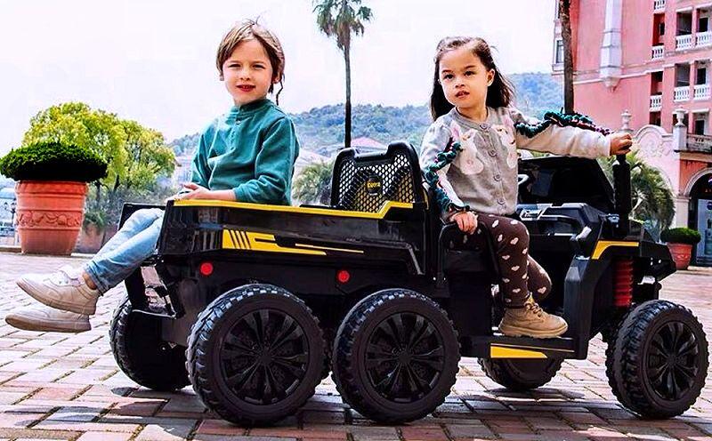 Elektroauto für Kinder Geländewagen 4x4 A730-2