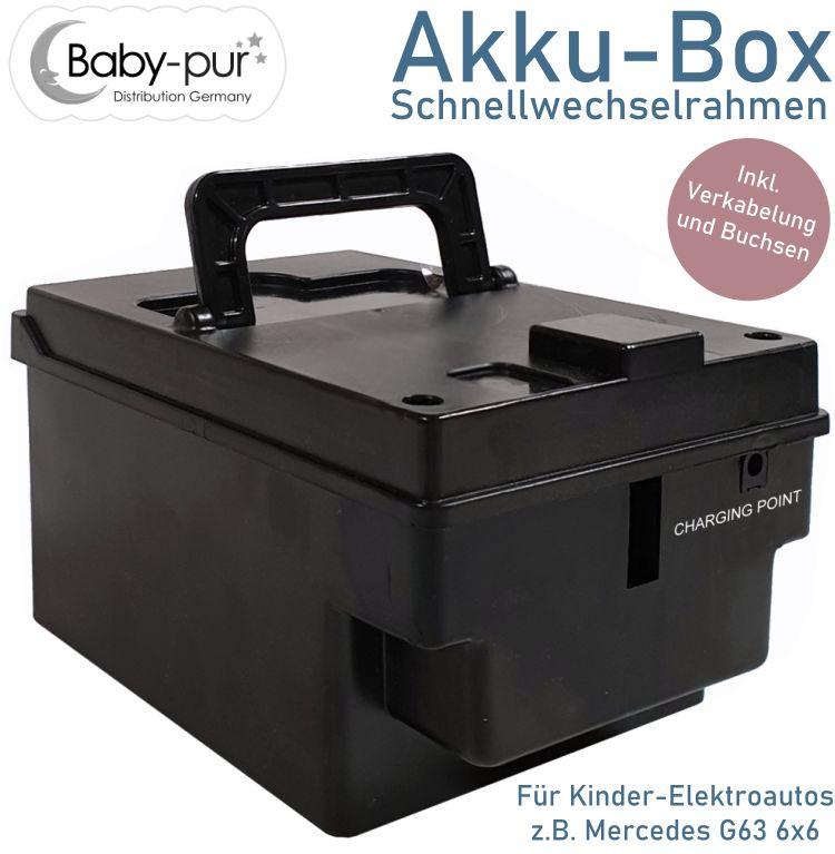 Akku-Box Schnellwechselrahmen für Akkus
