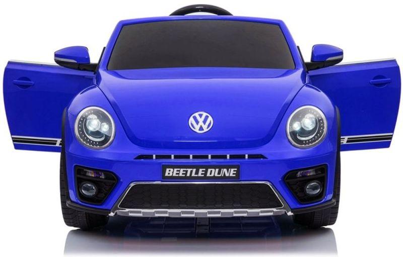 Elektroauto für Kinder VW Beetle Dune Käfer Ledersitz EVA