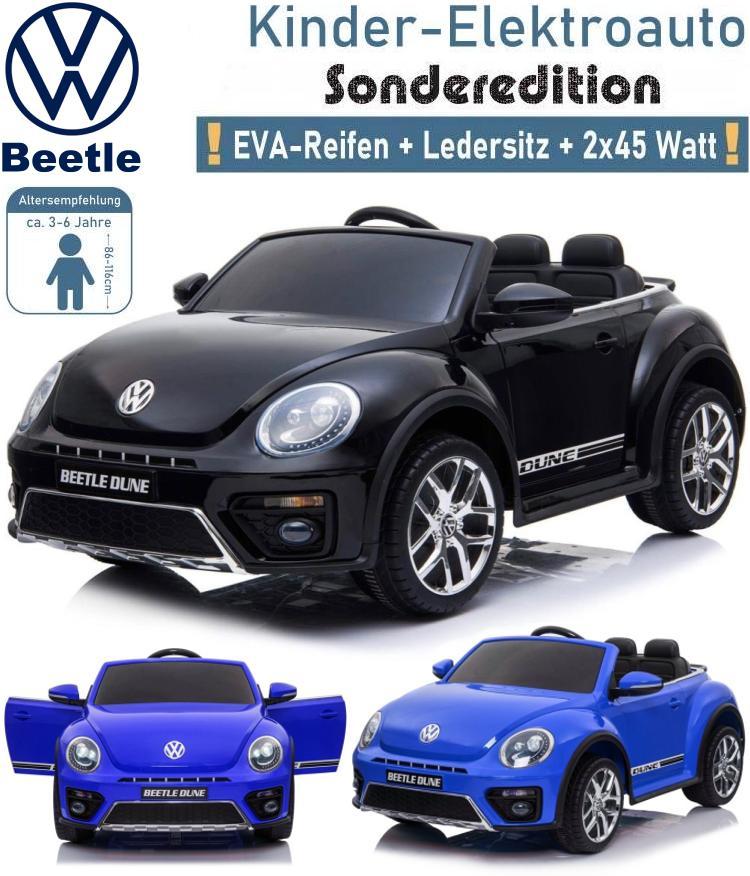 Kinder Elektrofahrzeug VW Beetle Dune Käfer