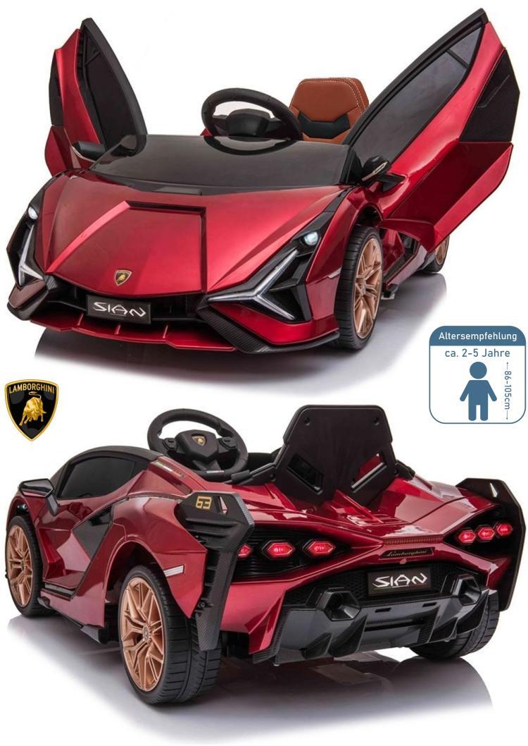 Lamborghini SIAN Elektro Auto für Kinder