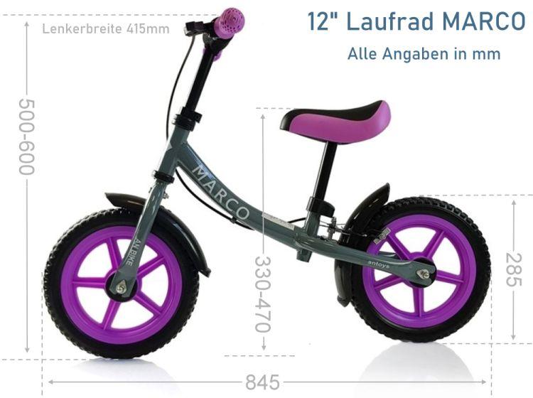 Marco 12 Zoll Laufrad