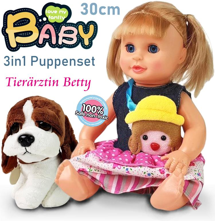 Puppe Tierärztin Betty