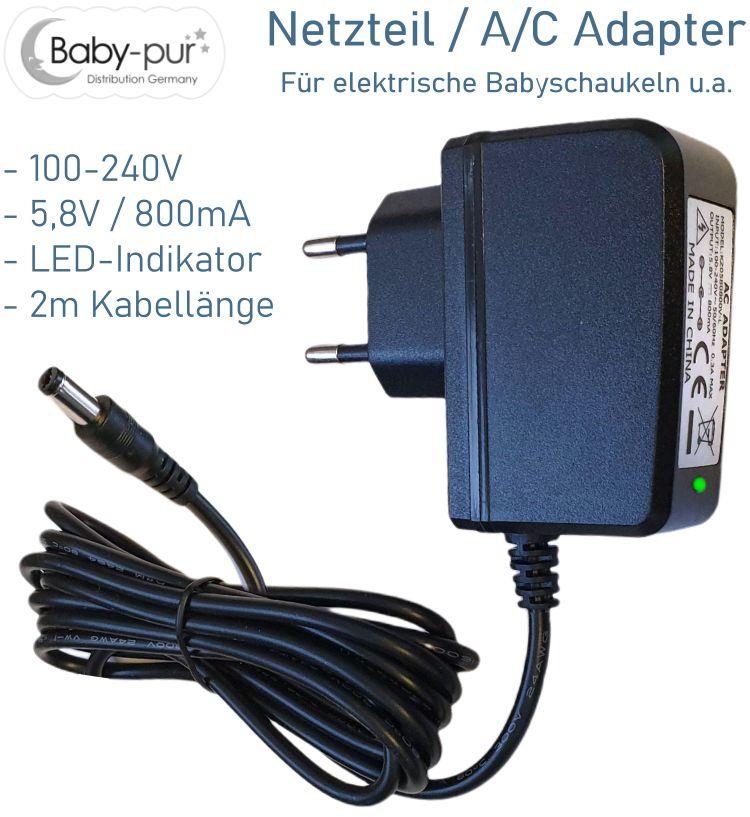 Ladegerät Ladekabel Netzteil für elektrische Kinderfahrzeuge