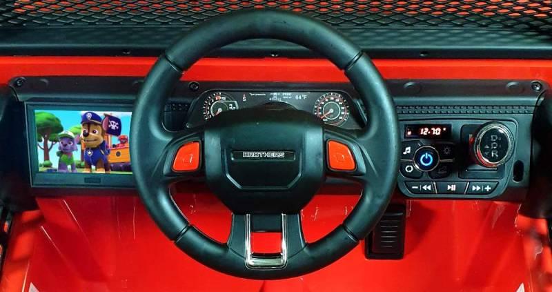 XMX618 4WD Elektro Kinderauto Geländewagen Videoplayer