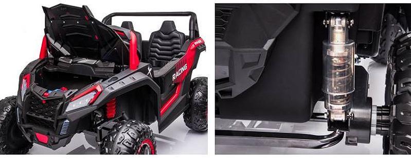 Zweisitzer Elektroauto für Kinder Geländewagen YSA032