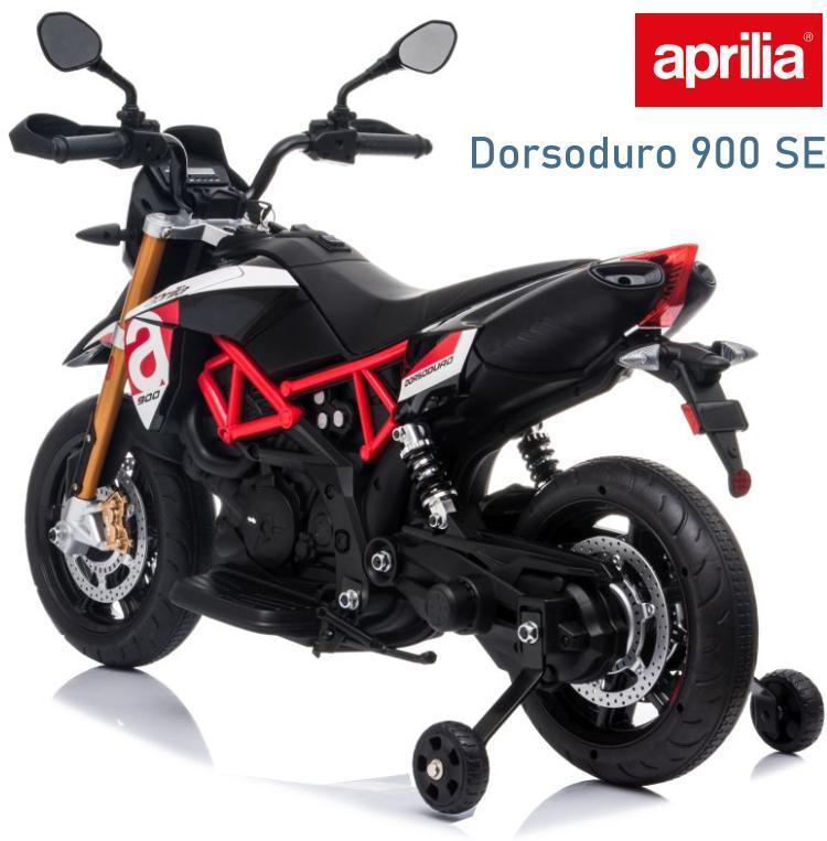 Aprilia Dorsoduro 900 SE Elektromotorrad für Kinder