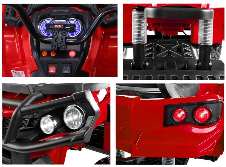 Elektrisches Kindermotorrad BDM0906 Quad