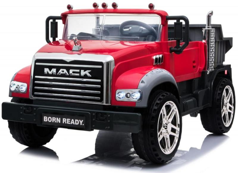 Elektro Auto für Kinder Mack Kipper LKW