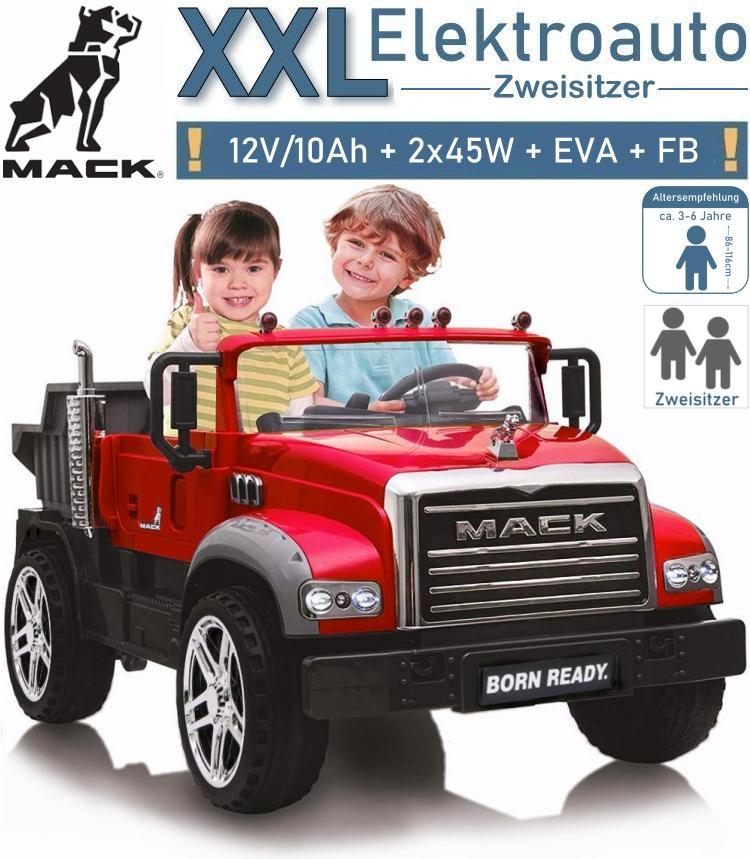 Kinder Elektrofahrzeug Mack Kipper LKW Elektroauto