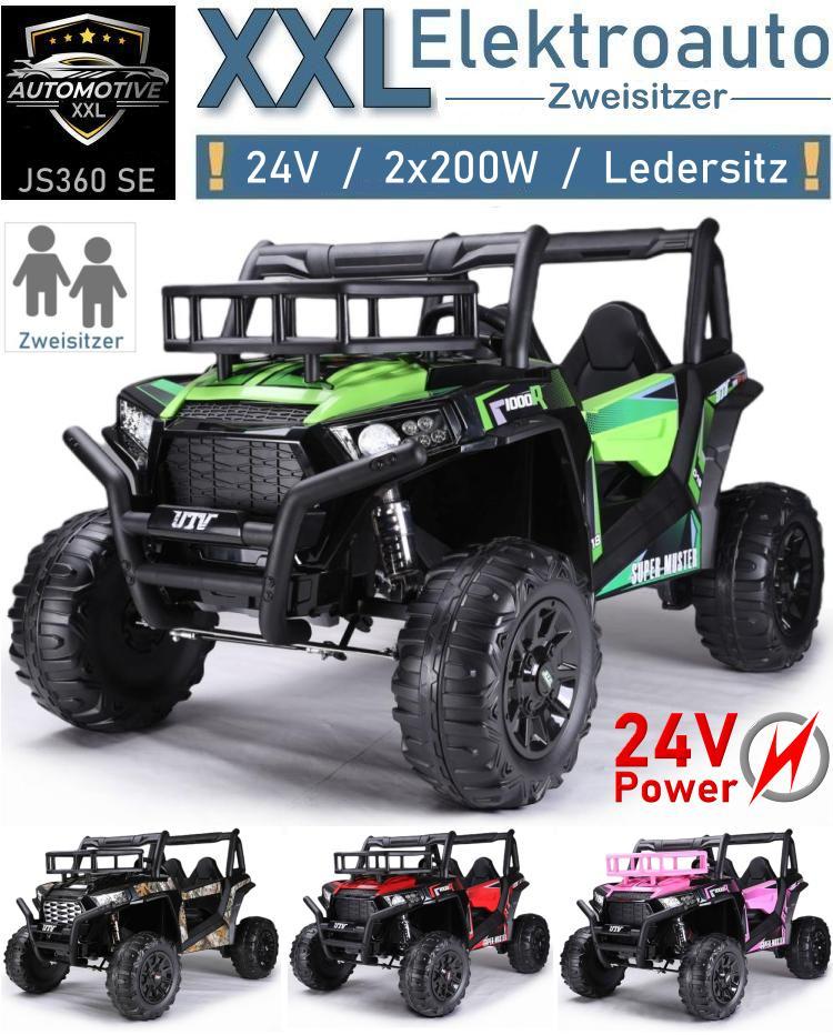 Kinder Elektroauto XXL JS360 Geländewagen Zweisitzer