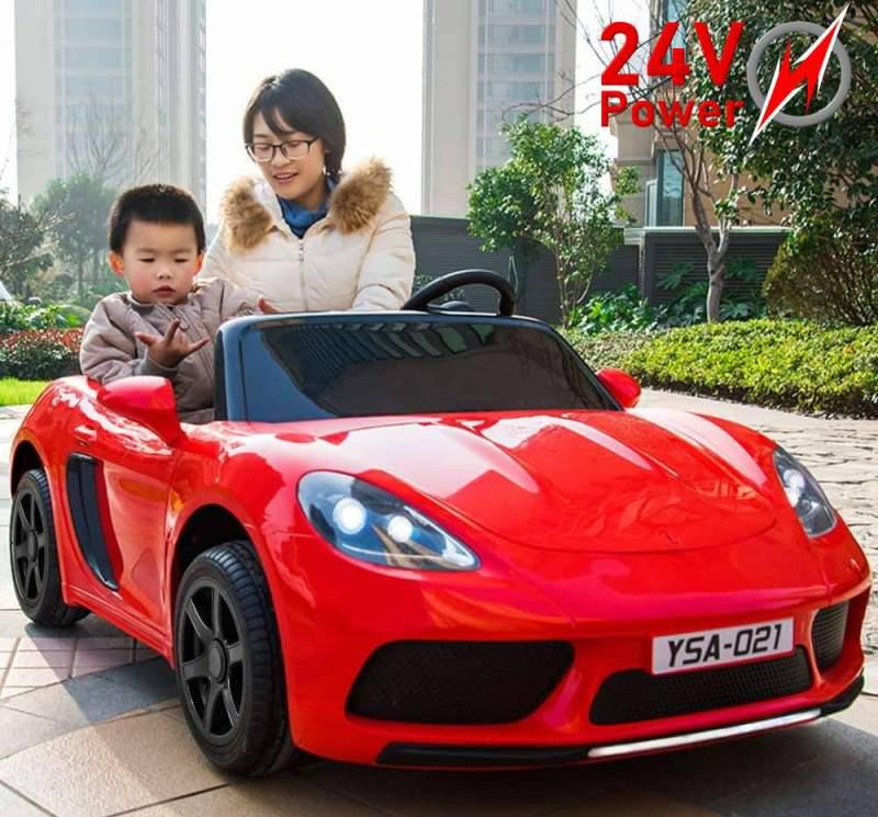 Elektroauto YSA-021 für Kinder XXL extra groß mit bürstenlosem 24V-Motor