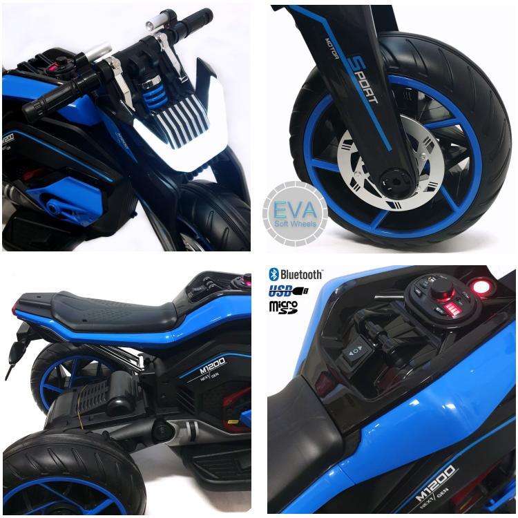 PowerTrike-X Elektrisches Kindermotorrad LL8001-A