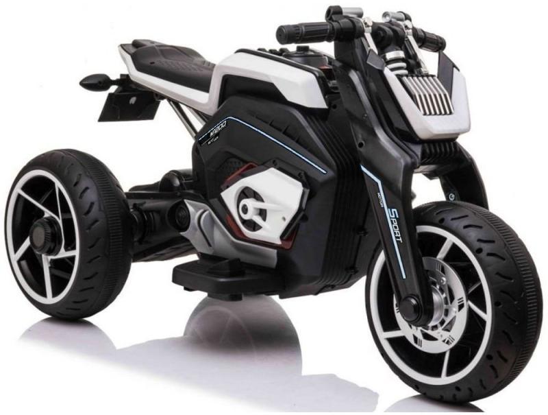 Elektromotorrad Aprilia für Kinder E-Trike LL8001 12V PowerTrike-X