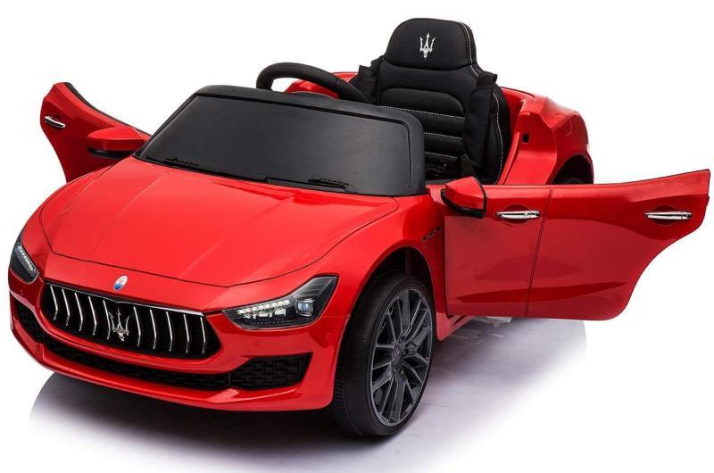 Rotes Elektro Auto für Kinder Maserati Ghibli