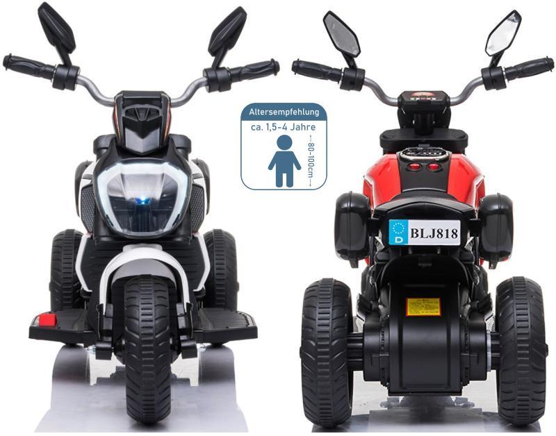 Elektrisches Kindermotorrad Elektromotorrad Elektrotrike BLJ818