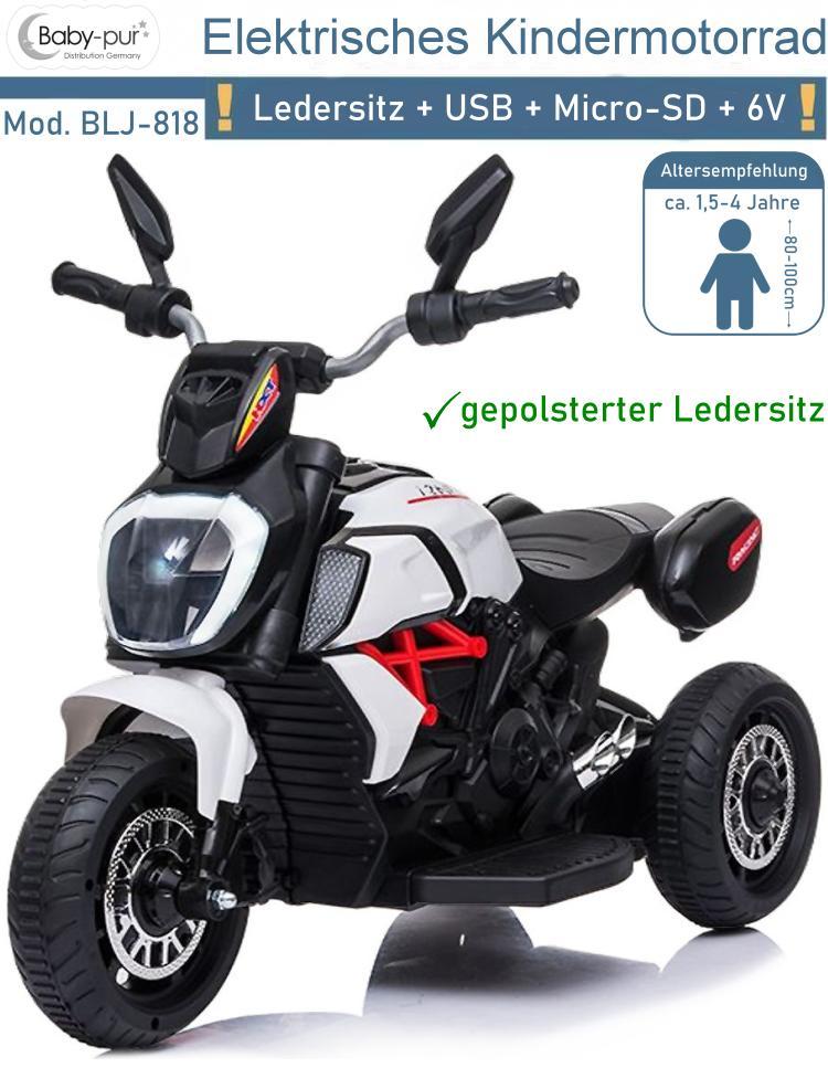 Elektrisches Kinderfahrzeug Elektro Motorrad BLJ818
