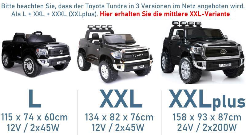 Elektroauto für Kinder Geländewagen Toyota Tundra XXL 24V 400W