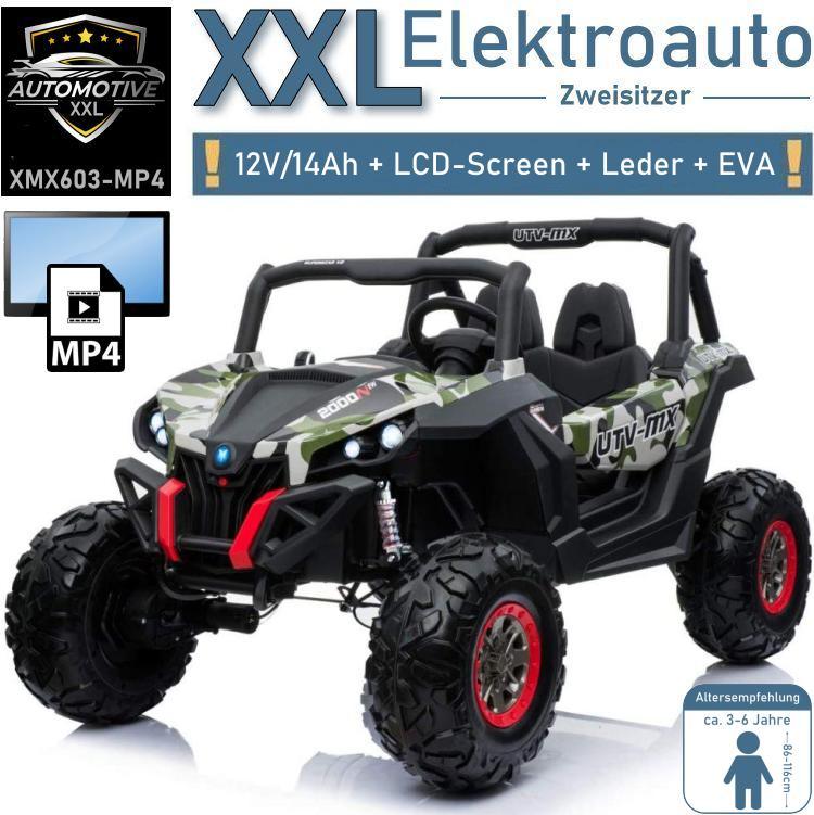 Kinder Elektroauto XXL Geländewagen XMX603 UTV-MX MP4