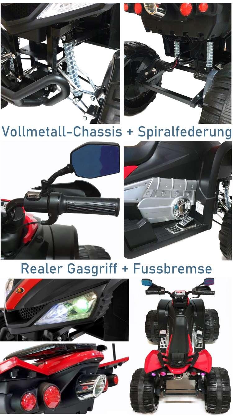 Elektrisches Kindermotorrad Quad DMD268C