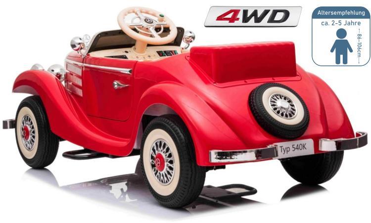 Elektro Auto für Kinder Mercedes 300s Roadster