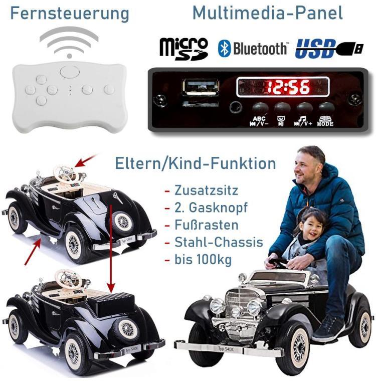 Elektrisches Kinderauto Mercedes 540K