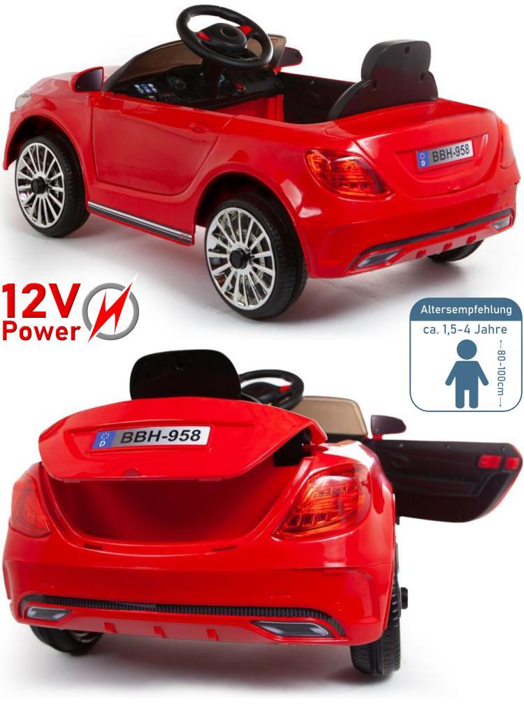 Kinder Elektroauto BBH-958