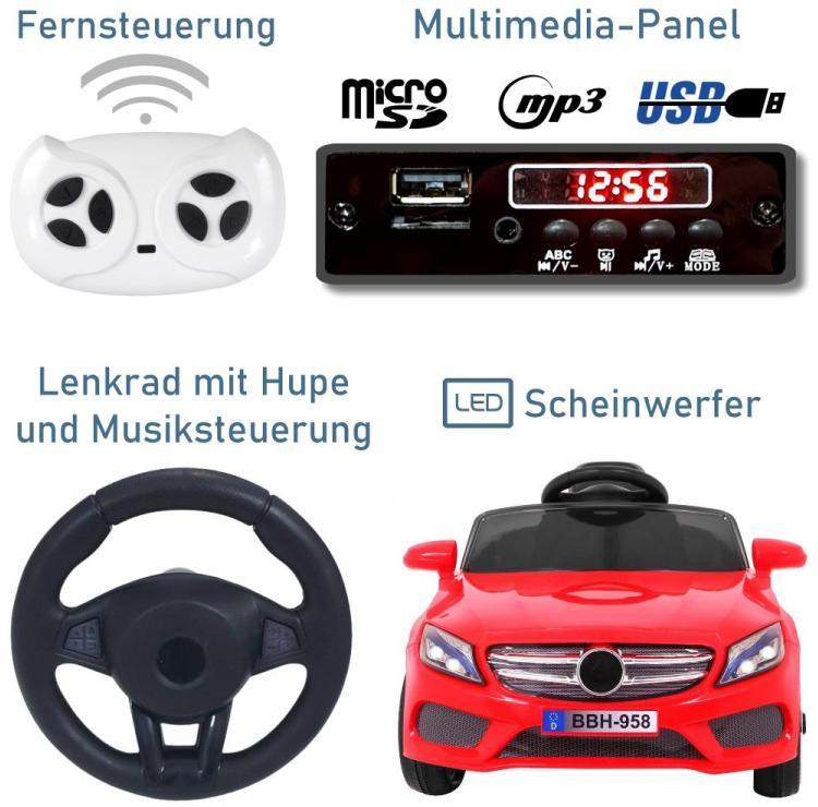 Elektro Auto BBH-958 für Kinder
