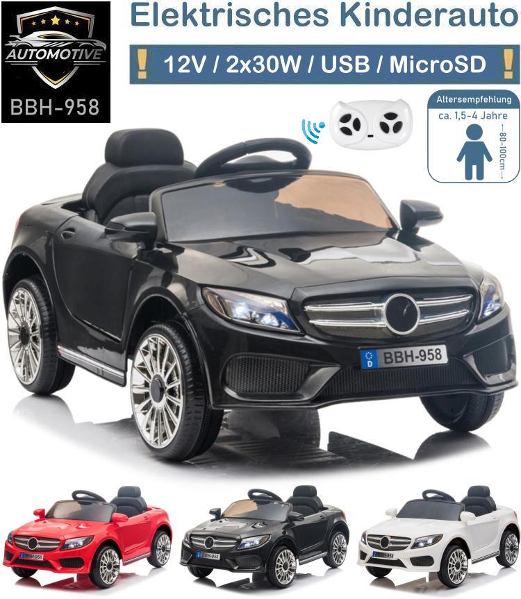 Kinder Elektrofahrzeug BBH-958 Elektroauto