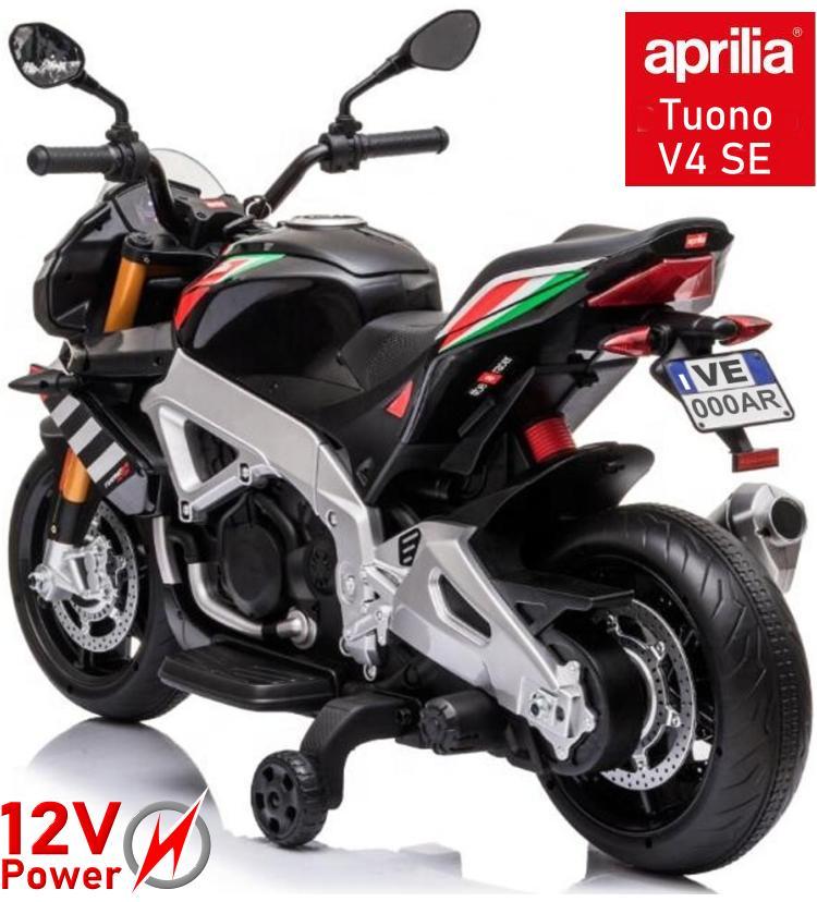 Tuono V4 Elektro Motorrad für Kinder Aprilia